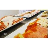 quanto custa buffet de massa italiana Amparo